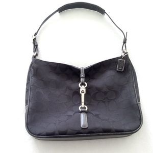Vintage Coach Sig C Clip Hobo w/Original Dust Bag